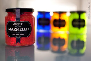 Marmeled jelly lamps