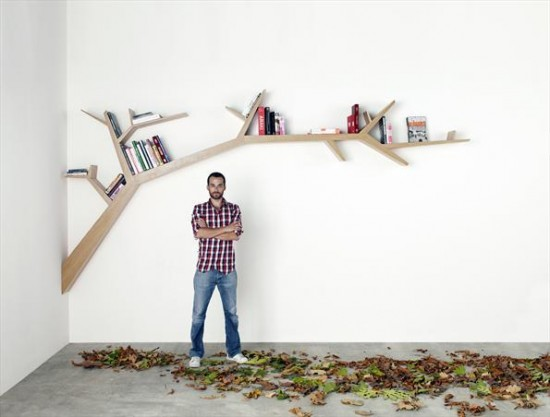 Branch Bookshelf Seen On www.coolpicturegallery.us