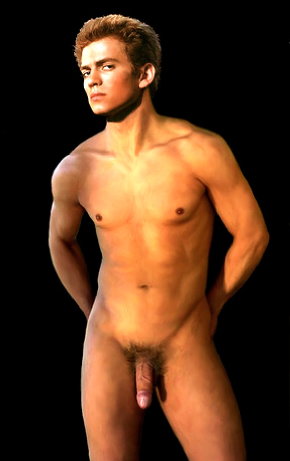Hayden Christensen Gay Naked Fakes - Cock Hard-on