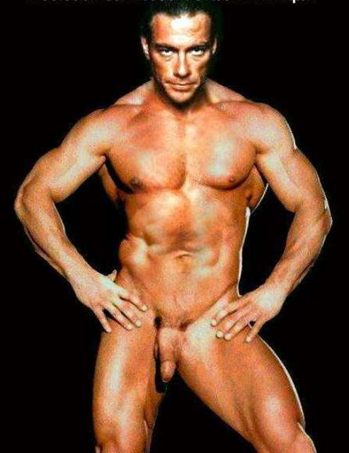 van dame desnudo: