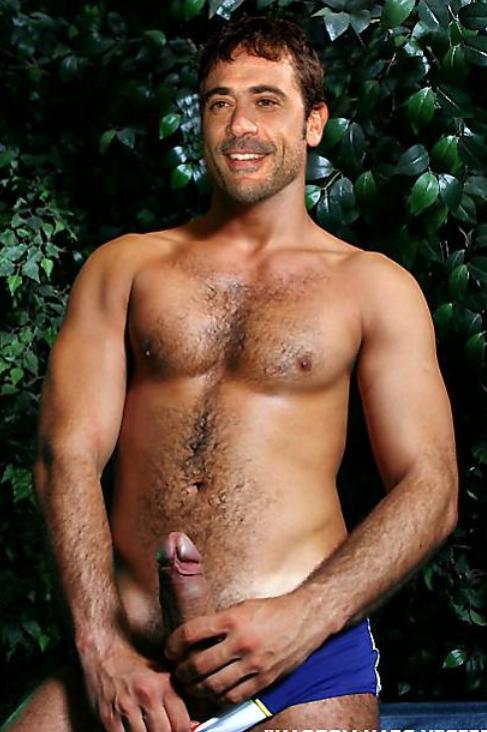 Naked morgan jeffrey dean Hot Jeffrey