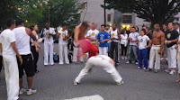 The capoeira demonstration during Vancouver's   Celebration of Light 2010- Night One