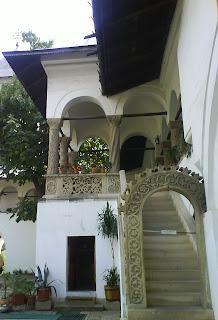 Horezu Monastery arches, Romania, UNESCO Patrimony