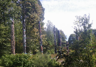 The Totems of Brockton Point, Stanley Park, Vancouver