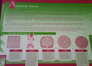 VanDusen maze plaque