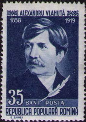 1958 Stamp Alexandru Vlahuta