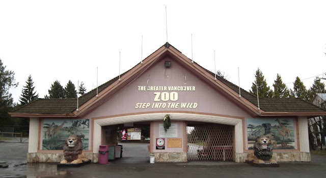 Greater Vancouver Zoo - entrance