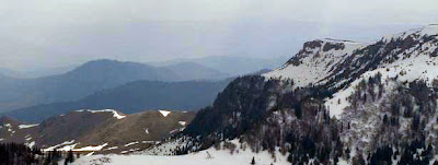 Winter in Carpathian Mountains