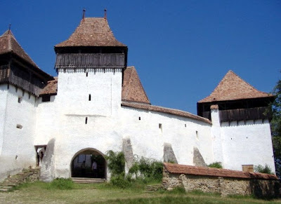 Viscri Fortified Church -Cultural Site on the List of World Heritage Sites
