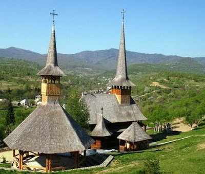 Poienile Izei Wooden Church - Cultural Site on the List of World Heritage Sites