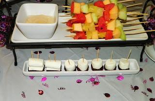 Fruit Kabobs with Dip