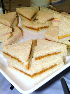 Princess Tea Party Ideas: Crustless Sandwiches