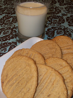 Around My Family Table: Flourless Peanut Butter Cookies