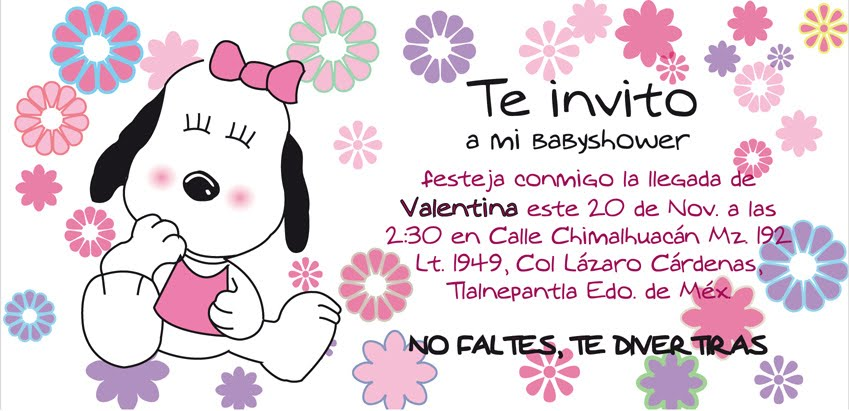 Poema Invitacion Baby Shower
