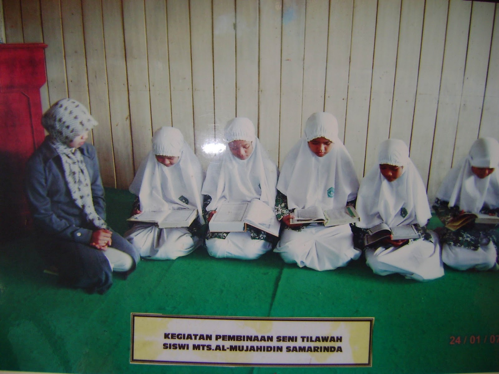 Mts al mujahidin samarinda terakreditasi baik ( b )