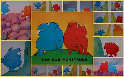 Resultado de imagen de dos monstruos