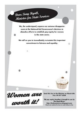 Kiwipolitico blog archive pay equity faxathon for Mirror of equity