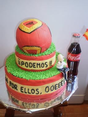 tarta de la selección española