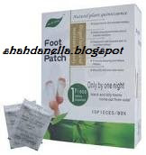 Detox foot patch- Nyah toksin dalam badan