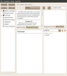 Biblia tanulmányozóm szoftver Ubuntu Linuxra