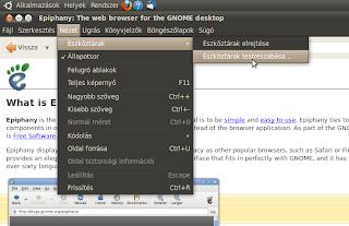 ubuntu böngészők