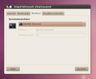 Rendszer Ubuntu