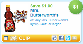 mrs butterworth syrup coupon