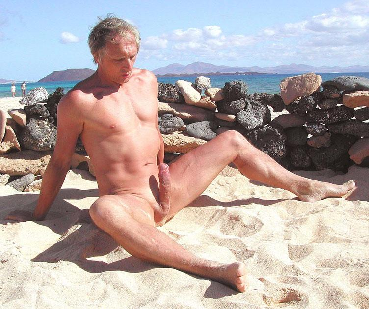 men with erections on nude beaches