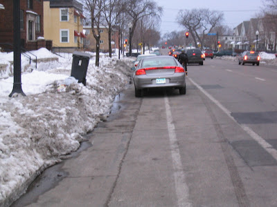 minneapolis bike lane