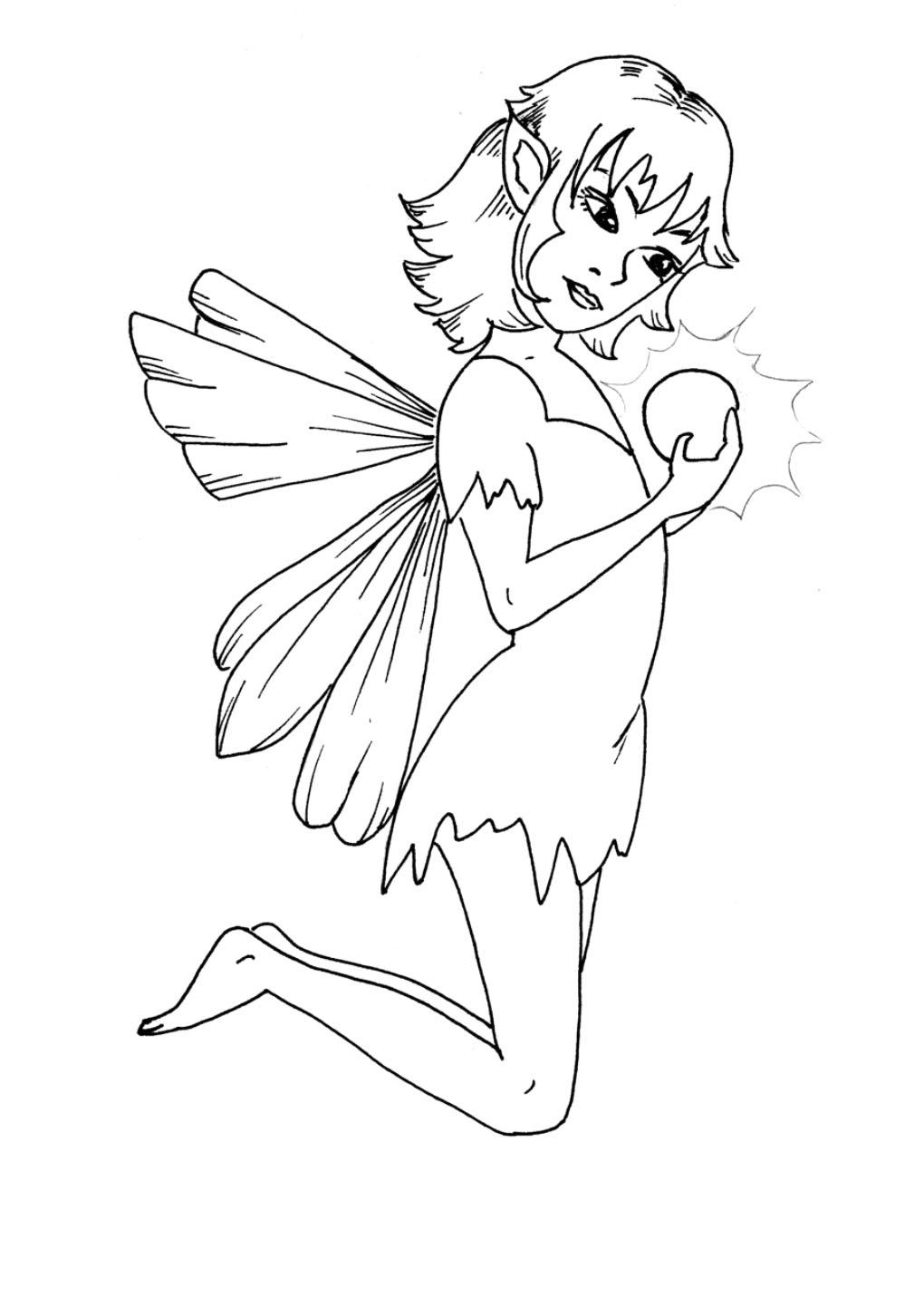 Easy Draw Fairy