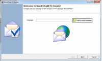 Masque QuickStep Email Wizard