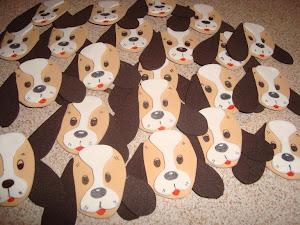 Títeres de Dedo de Perritos Beagle