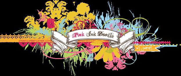 Pink Ink Doodle