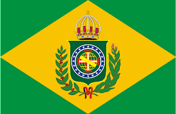 Flag of the Brazilian Empire (1822-1889)