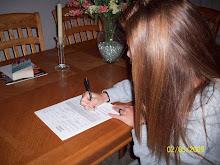 Rachel Signing NLI