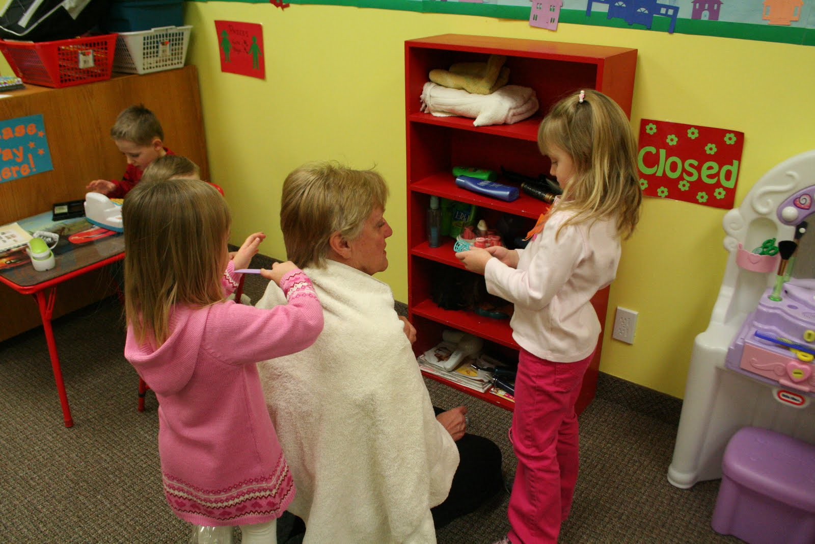 Little Lambs Christian Preschool: Hair Salon