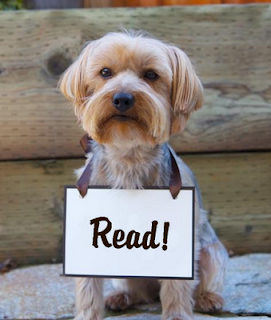 Dog says read