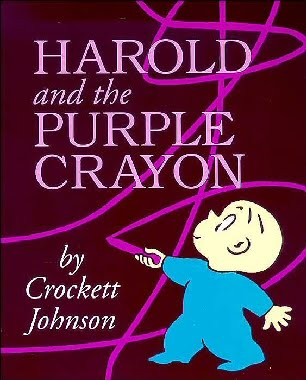 Harold and the Purple Crayon-Best books for 3 year olds