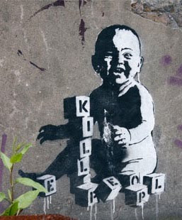 banksy kill people