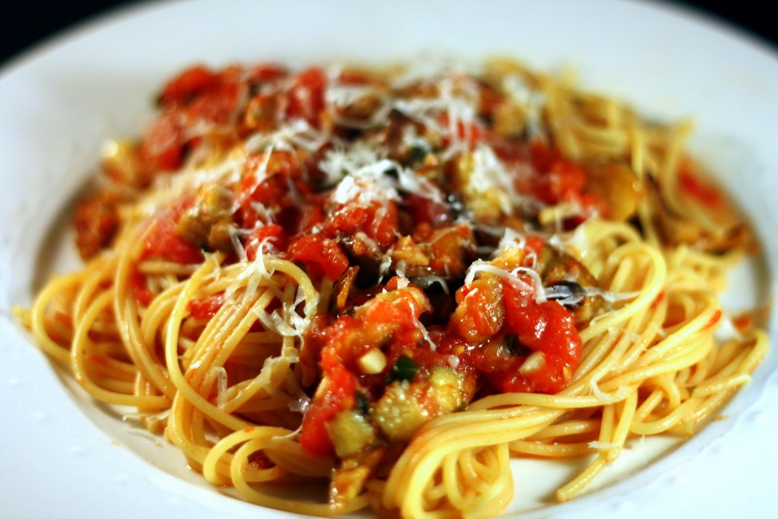 Pasta With Eggplant Recipes — Dishmaps