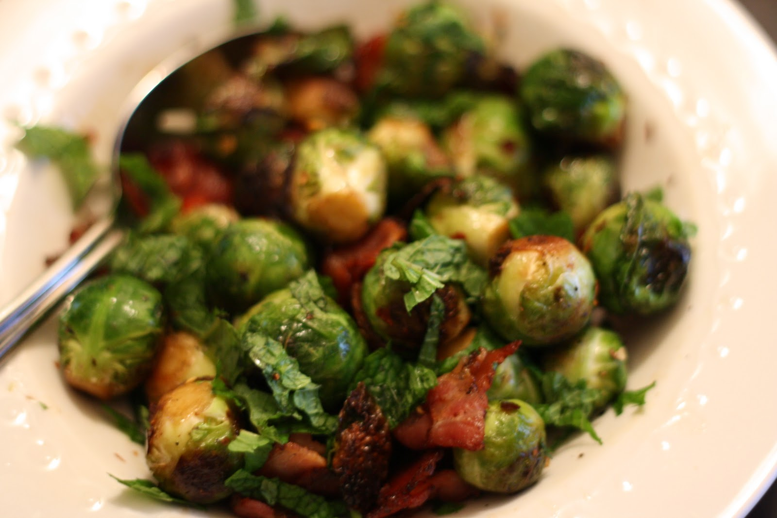 Sauteed Brussels Sprouts with Bacon, Lemon, and Chili Flakes ...