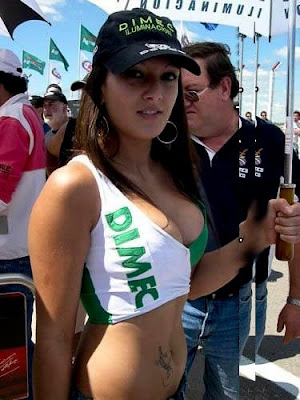 Racing Hot Girls Sideline Senoritas foto