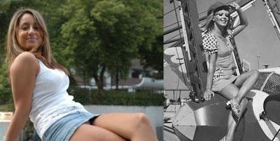 Damn hot Mini-skirts from the 70's vs modern era