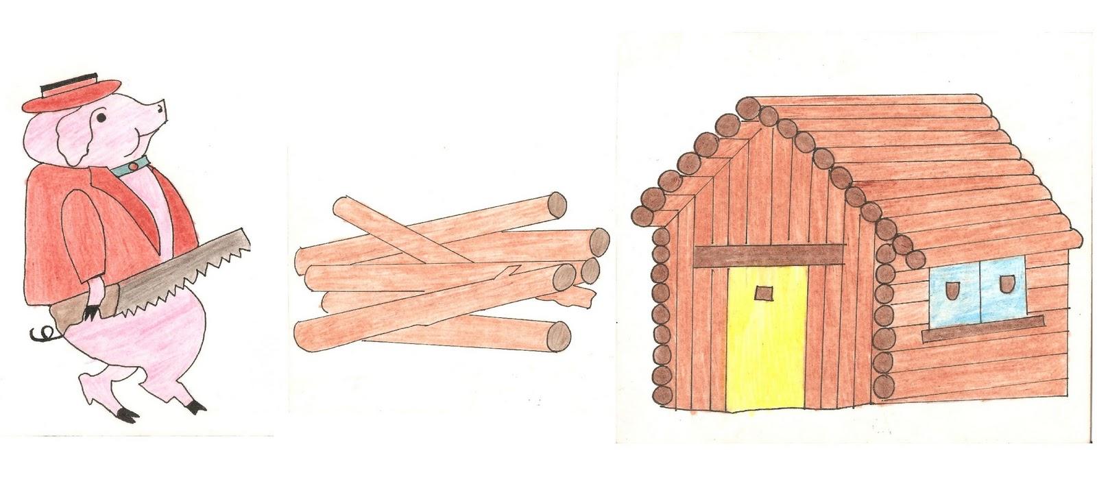Las Casas De Los Tres Cerditos Www Miifotos Com