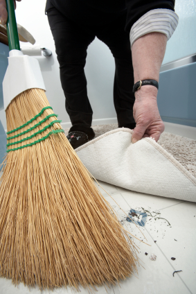 Sweep It Under The Rug Means To Try To Hide Or Ignore A Problem Rather Than  Dealing With It Or Cleaning It Up.