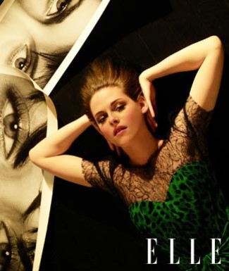 Kristen Stewart Weird on Jake Weird  Kristen Stewart In Elle Photoshoot June 2010