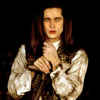 Brad Pitt as Louis in Interview with the Vampire Louis played by Brad Pitt