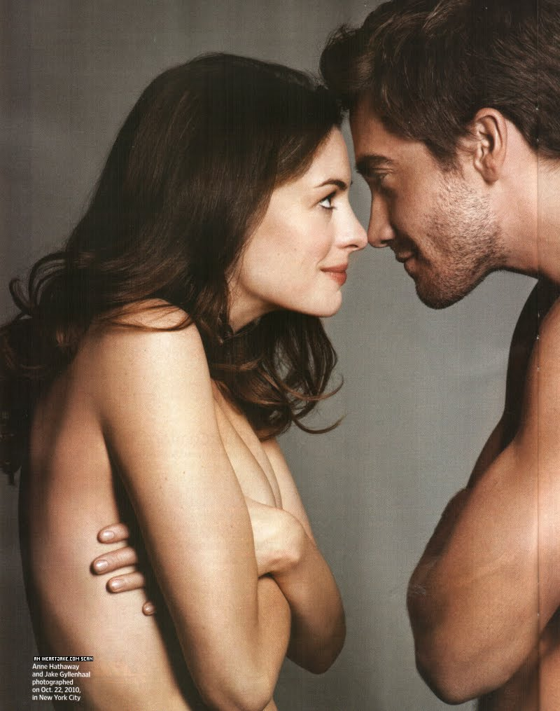 Scans of Jake Gyllenhaal and Anne Hathaway for Entertainment Weekly, ...