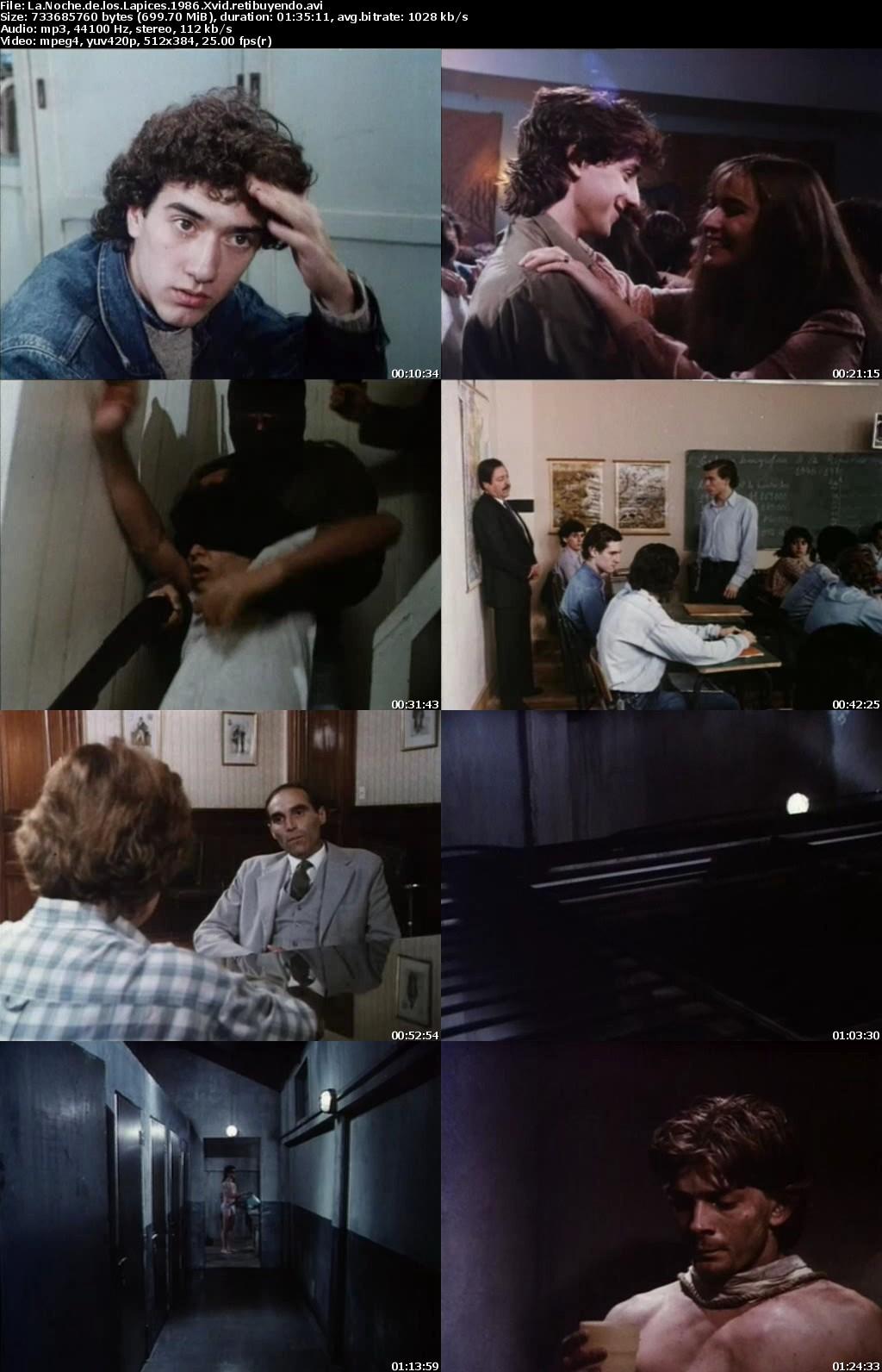 Capturas - La noche de los Lapices