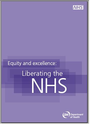 equity and excellence liberating the nhs Title, equity and excellence: liberating the nhs publication type, paper year of  publication, 2010 authors, of health, department.